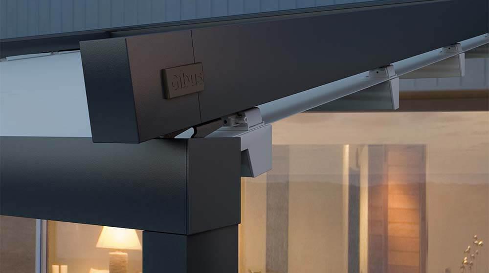 couverture pergola etanche good plus de photos pergola toitures amovibles with couverture. Black Bedroom Furniture Sets. Home Design Ideas
